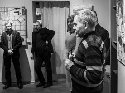 Вернисаж Ирины Платуновой. Фото Алексея Школдина