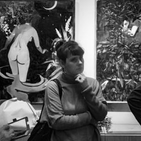 Выставка Ольги Ситниковой-Яковченко. Фото Алексея Школдина
