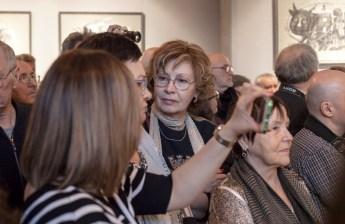 Выставка Сергея Мосиенко в Гостиной Союза художников. Фото Ольги Левыкиной