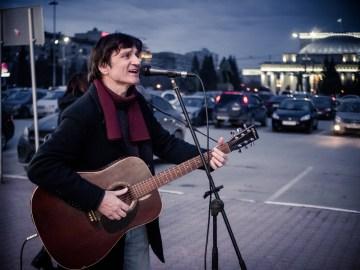 Музыкант Олег Кузнецов. Фото Елены Берсенёвой