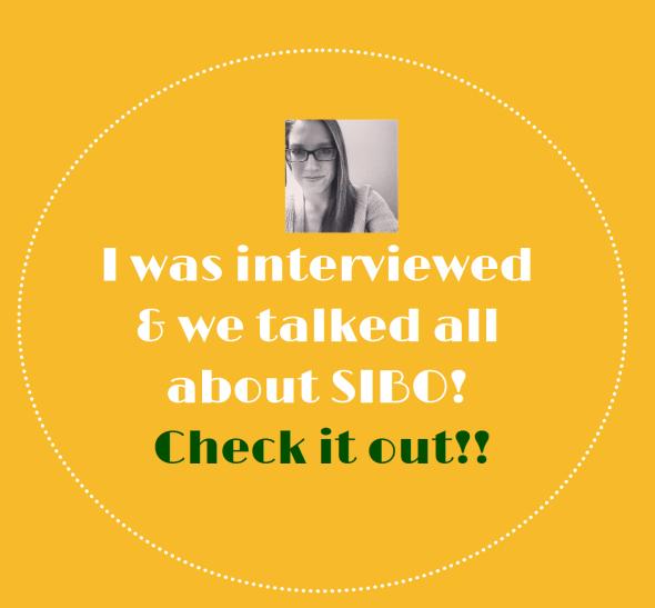 SIBO Diaries interview