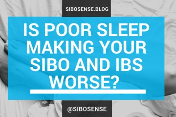 Poor sleep makes your IBS and SIBO worse. Learn about the gut-sleep connection and how to get better sleep here.