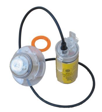 Kv led esterna (luce esterna per zattere di salvataggio omologata solas) - Forwater