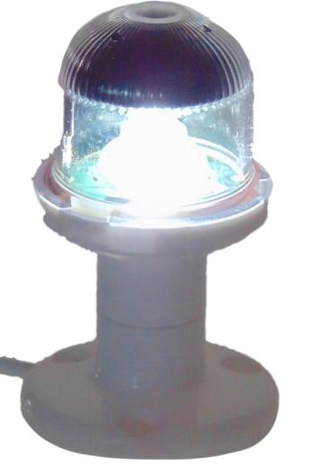 Fanale di via orionis e 12v 135° poppa bianco (stern) led - Product design