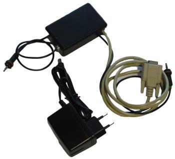 Comunicazione seriale 12 volt per lo strumento dig. - AC adapter