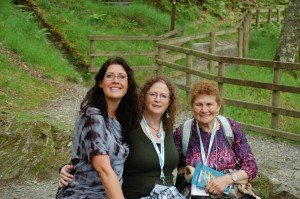 three generations of audacious women.