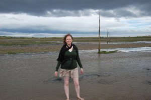 low tide at Lindesfarne