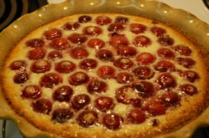 cherry custard pie :)