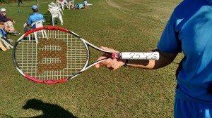 Tennis Racket signed by Roger Federer