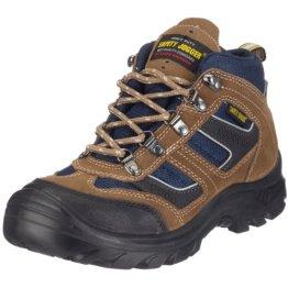 Safety Jogger X2000, Unisex - Erwachsene Arbeits & Sicherheitsschuhe S3, braun, (blk/brn/navy 10A blk/brn/navy), EU 46 - 1