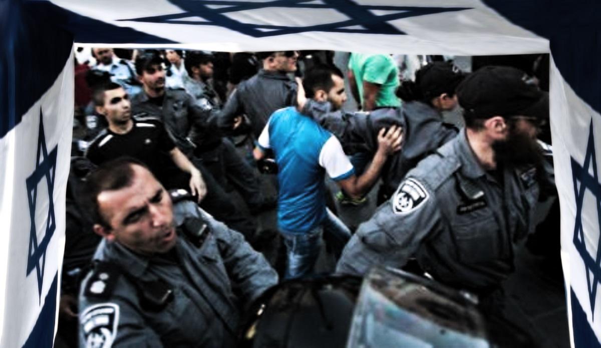 Palestine pogrom