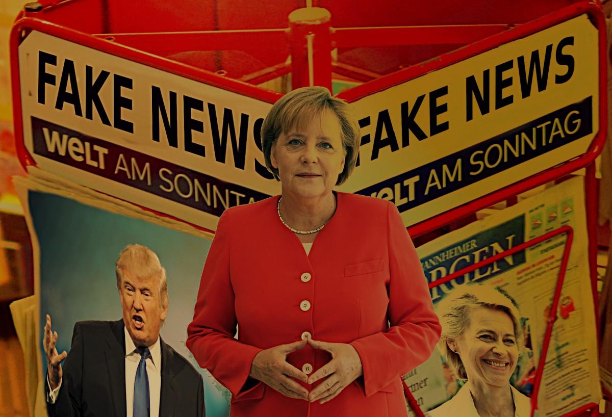 Fake News Merkel von der Leyen