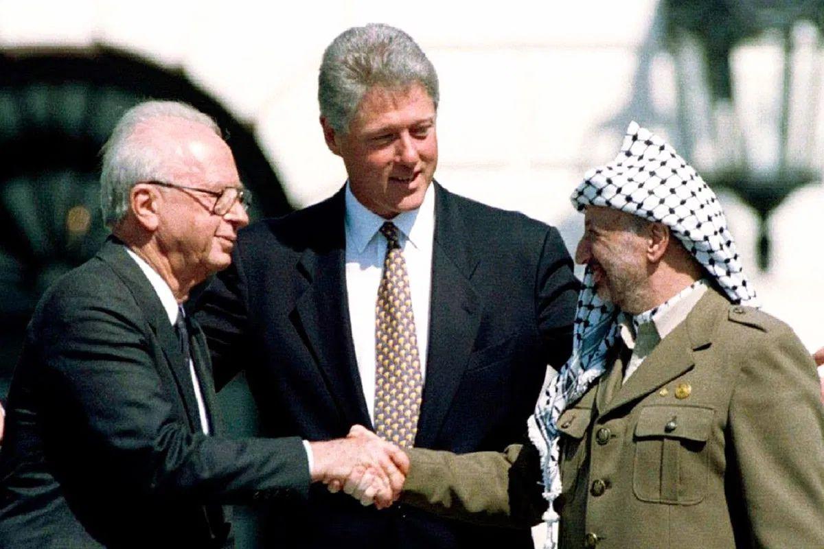 Rabin-ArafatRabin Clinton