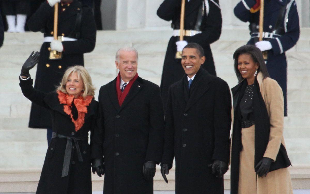 Biden back in the past