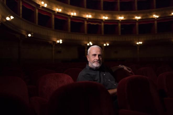Roberto Alajmo, directeur artistique du Teatro Biondo