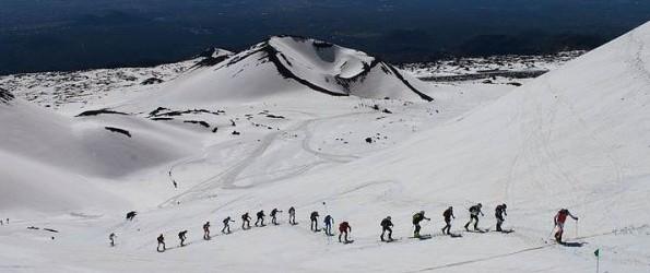 катание на лыжах на Этне