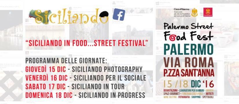 Siciliando and Street Food Fest 2016
