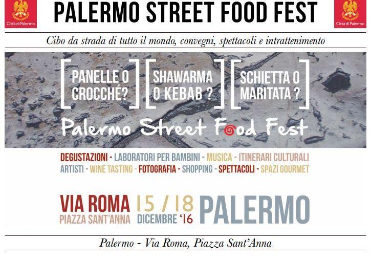 Seconda edizione giornale Palermo Street Food Fest