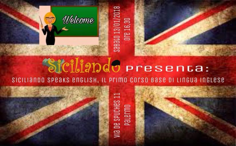 Corsi, Siciliando speaks English