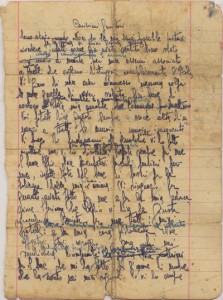 La lettera di Antonio Brancati