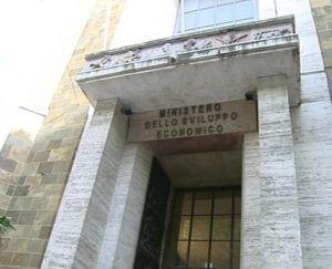 Ingresso del MiSE-Ministero dello Sviluppo Economico - Roma 14/05/2014