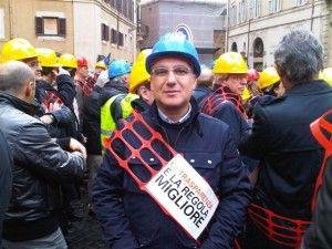 Pippo Famiano, segretario generale Filca Cisl Messina