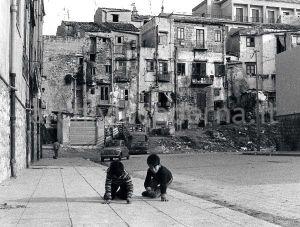 Il quartiere dell'Albergheria a Palermo