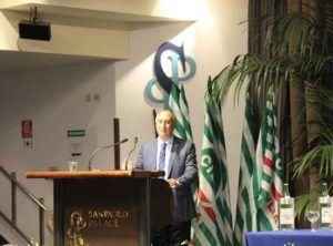 Mimmo Milazzo, segretario generale Cisl Sicilia