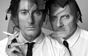 Gli stilisti Stefano Gabbana e Domenico Dolce