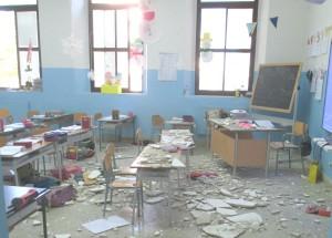 crollo calcinacci scuola Bagheria