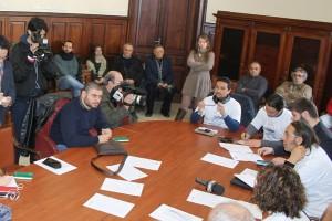 L'ultima conferenza stampa del movimento