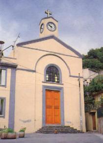 La chiesa San Pietro Apostolo a Mili San Pietro