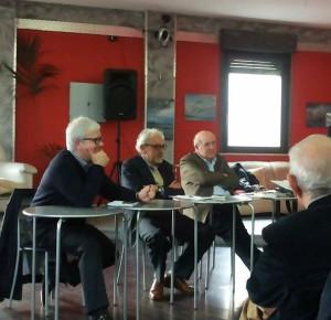 Da sinistra: Luigi Beninati, Peppe Fera, Ciccio Barbalace di LabDem