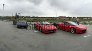 Le Ferrari del Club di Palermo
