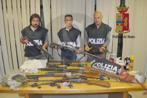 Polizia Ragusa_armi