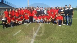 Raduno arbitri AIA Barcellona PG 24-10-2015 a