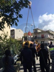 Salvataggio betoniera Barcellona 6-11-2015 a