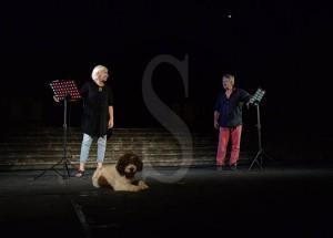 Simona Celi, Giancarlo Zanetti e il loro cane Marcello