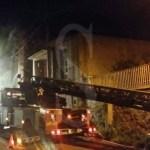 Incendio scuola Mili San Pietro 12-4-2016 a Sicilians