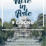 #Messina. Note In Arte, concerto al Gran Camposanto