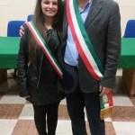 Il sindaco Campo con la neo eletta
