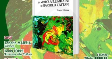 """#Barcellona. Presentazione del saggio """"La parola illimitata di Bartolo Cattafi"""""""