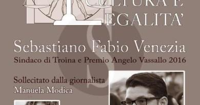#Messina. Incontro in biblioteca con Sebastiano Fabio Venezia