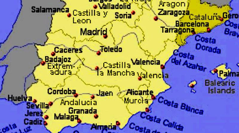 Cartina Catalogna.Spagna E Catalogna Realta E Menzogne Sicilia Occidente Barcellona Pozzo Di Gotto Me