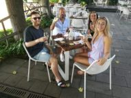 Some of our clients at Barone di Villagrande winery