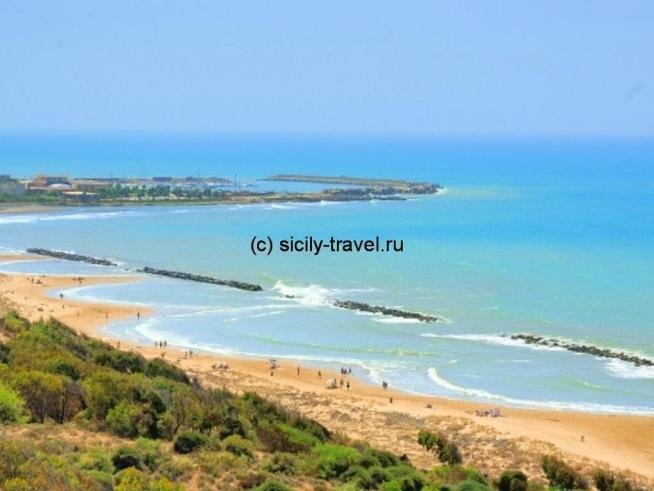 Пляж Сан Леоне