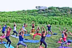 gruppo trek e yoga con sicily green adventures