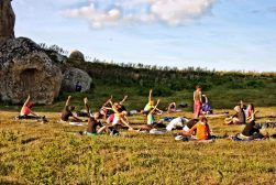 yoga trek argimusco