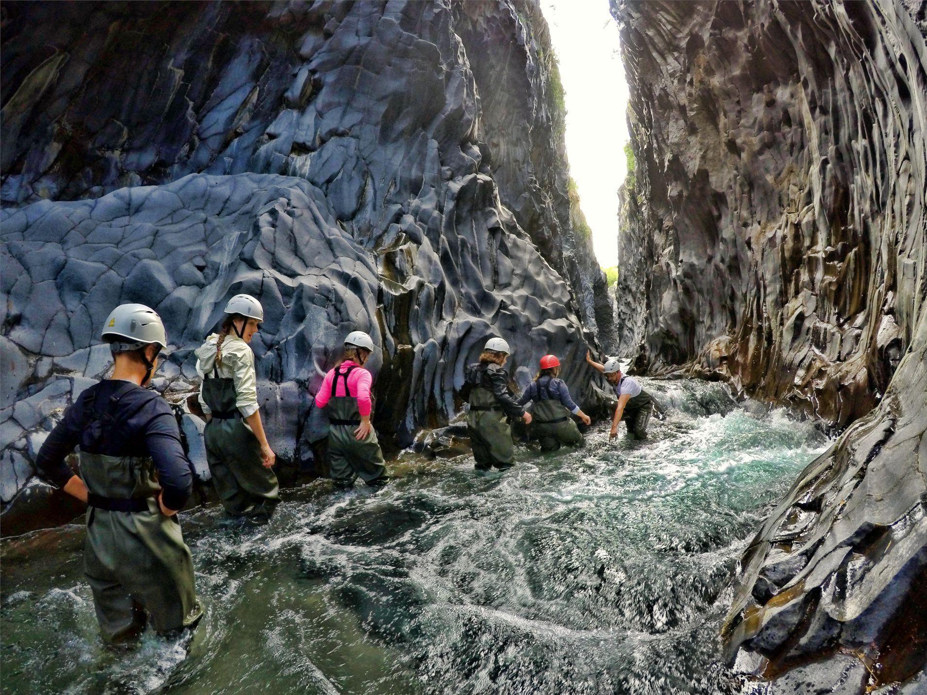 River Trekking al fiume Alcantara