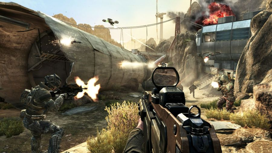 GDC  Fewer Games Are Featuring Multiplayer Modes   My Nintendo News Call of Duty  Black Ops